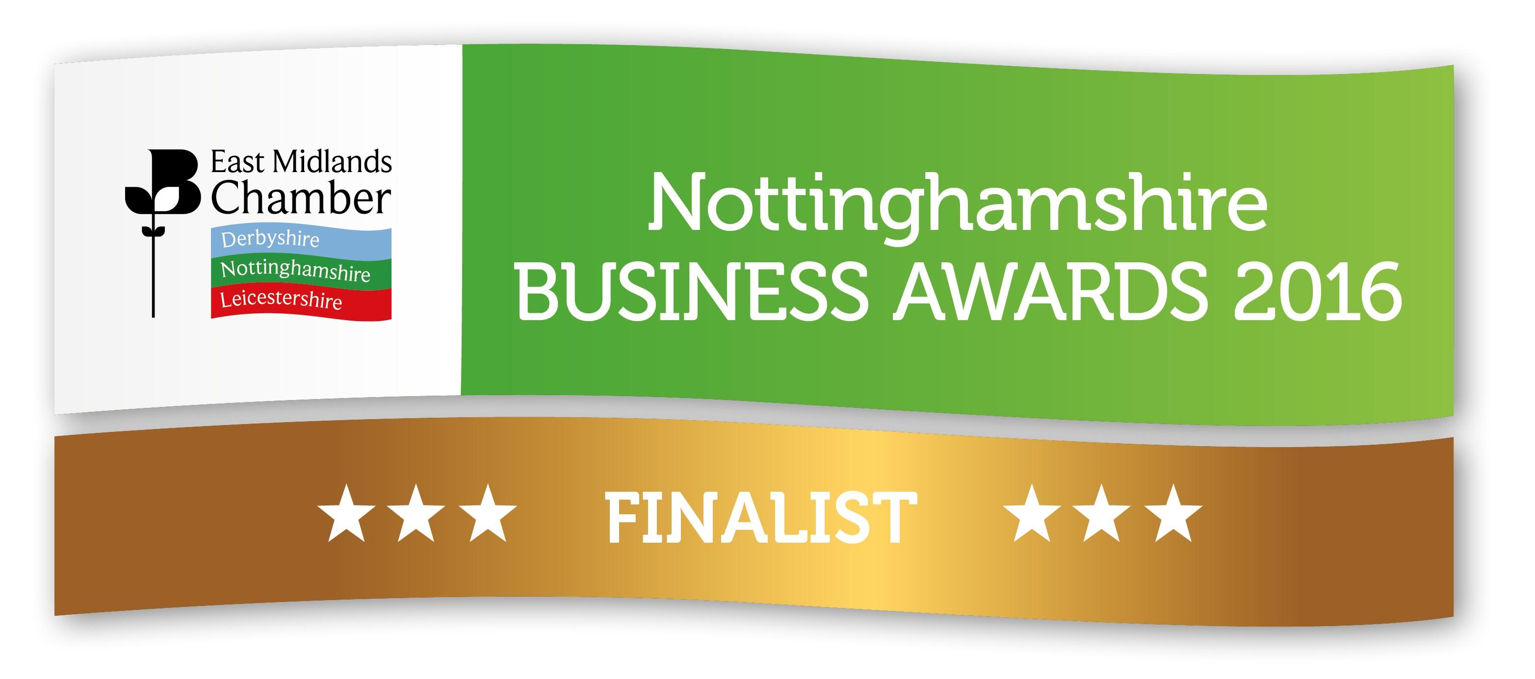 EMC Business Awards 2016 Finalist Logos - Notts