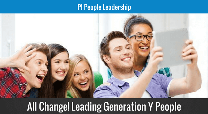 All change leading generation Y people