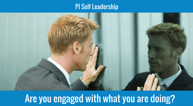 Are you engaged with what you are doing?