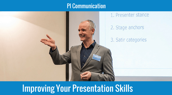 Improving your presentation skills