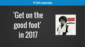 Get on the good foot in 2017