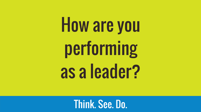 How are you performing as a leader