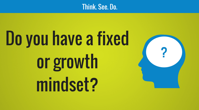 Do you have a fixed or growth mindset?